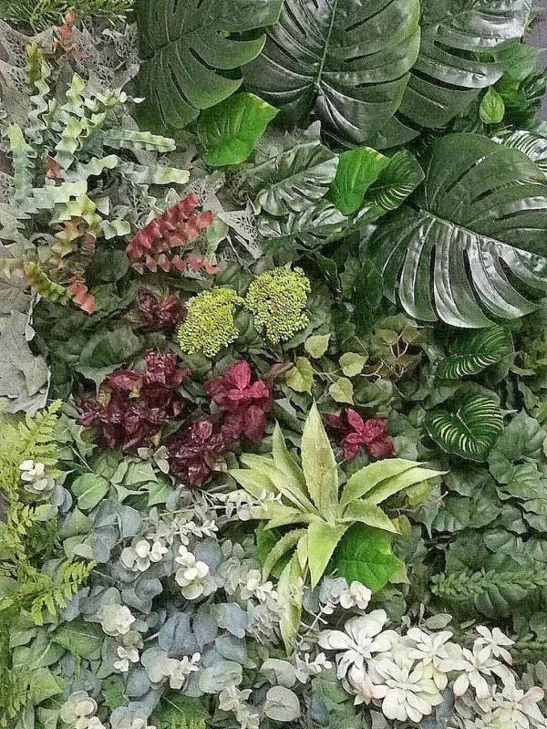 Panel roślinny Sukulenty i szałwia