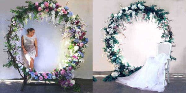 Okrąg kwiatowy Białe noce